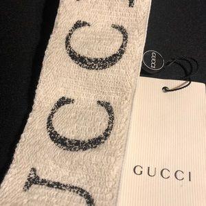 c5af69f9517 Gucci Accessories - Gucci Teban Logo Headband in white color